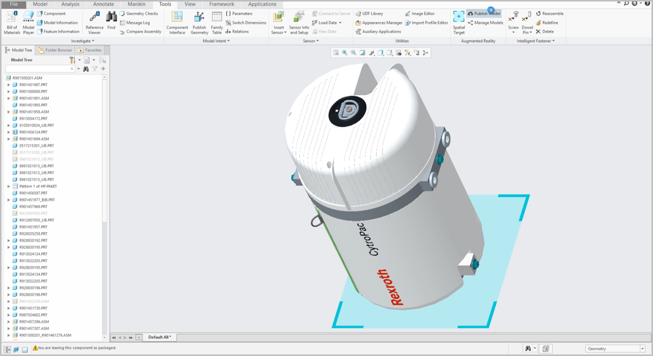 Creo Parametric Flexible 3d Cad Modelling Software Inneo